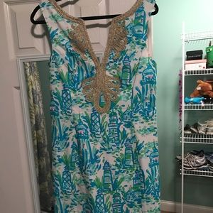 Lily pulitzer dress! Only worn once!!